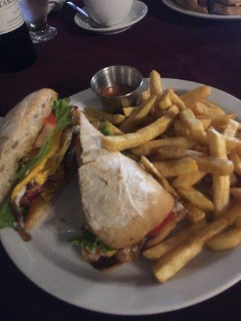 Nene's Restaurant : Ceviche and Nenes sandwich