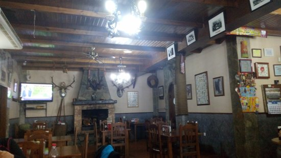Monesterio, Spagna: Salón del mesón