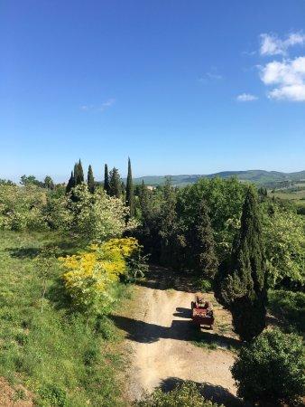 La Loggia - Villa Gloria: La struttura e la vista panoramica da Villa Gloria