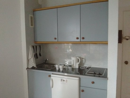 Palm Beach Club Apartaments: Adequate kitchen