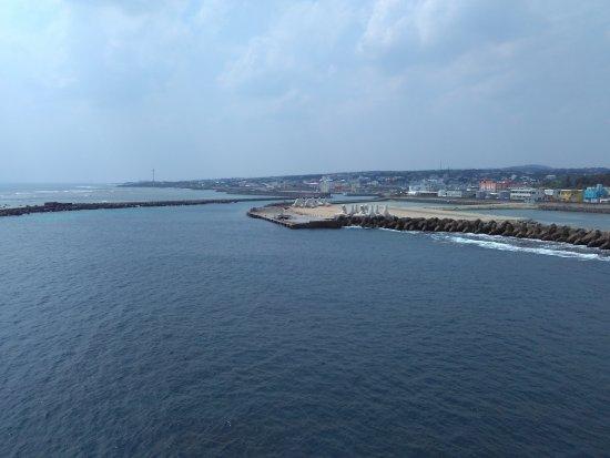 Wadomari-cho, اليابان: 船上からの眺め