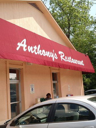 Barnwell, SC: Front of Anthony's