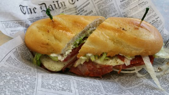 Forest Lake, MN: Italian Hot Hoagie