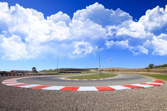 Campillos, Spanien: Quizás la curva mas complicada del circuito...