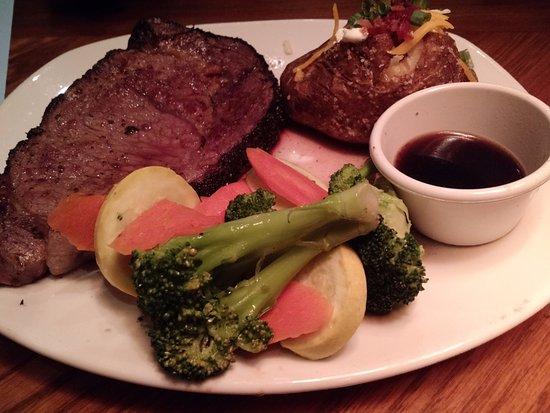 Easley, Karolina Południowa: Prime Rib Dinner