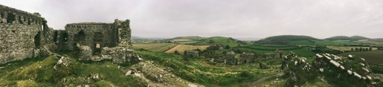 Portlaoise, Ireland: Rock of Dunamase Panorama