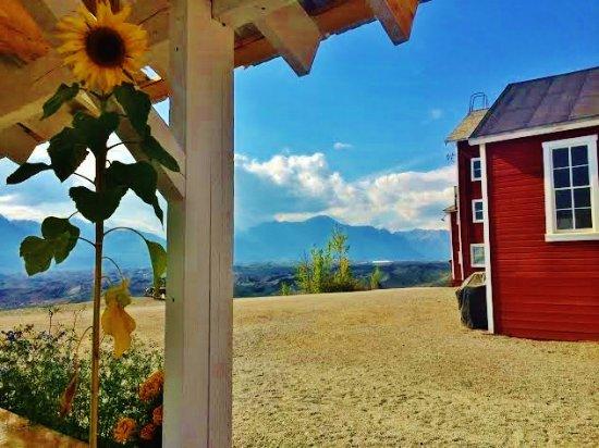 Kennicott, AK: view from pavilion