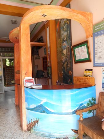 Hotel El Chaparral: Recepción