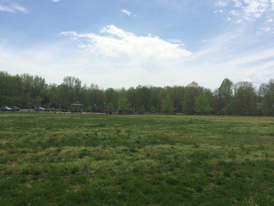 Eatontown, Nueva Jersey: Park after thunder storm