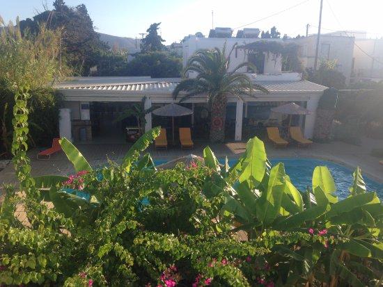 Casa di Roma: Views of pool from room