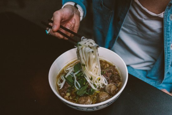 Walla Walla, WA: Pho: our take on a classic Southeast Asian specialty noodle soup