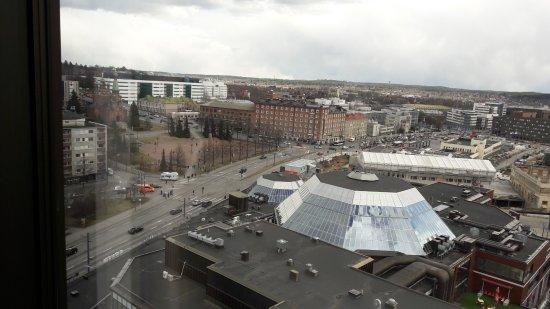 Original Sokos Hotel Ilves: Näkymä Hatanpään Valtatielle