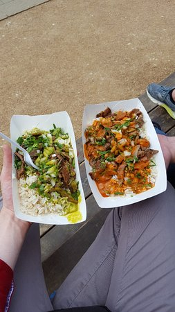 "Waco, TX: Rice bowl from the food truck ""Club Sandwich"" - very good!"
