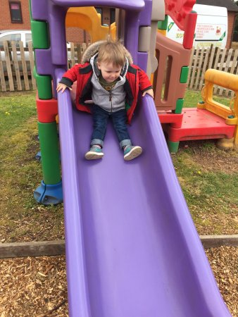 Etwall, UK: On the play area