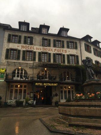 Photo de hotel des deux forts salins les bains tripadvisor - Hotel salins les bains ...