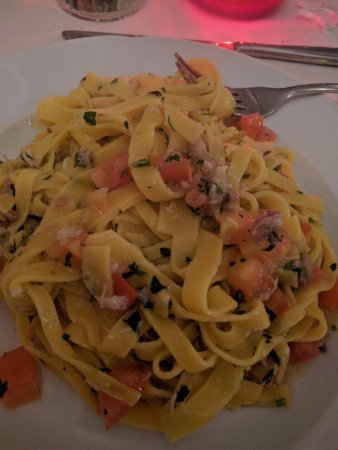 IL Passo di Giano - Ristorante Pizzeria: Tagliatelle con tinca e pomodirini