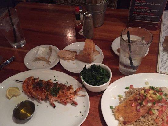Fishbar Manhattan Beach Seafood Restaurant: this one it´s the dinner