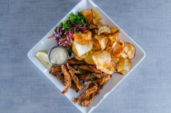 Edmonds, WA: Fried Smelt and Chips