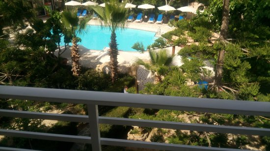 Apollonia Holiday Apartments: Room view of pool