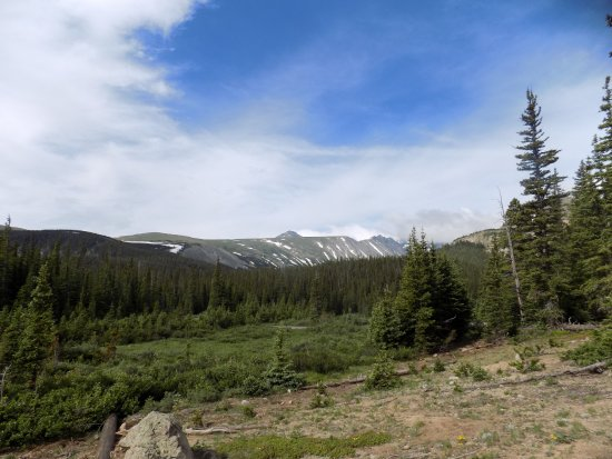 Rollinsville, CO: A view of the Continental Divide