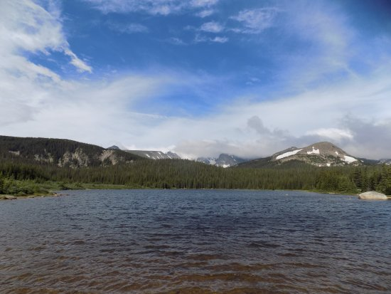Rollinsville, CO: The Indian Peaks from Brainard Lake