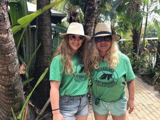 Trinity Beach Club Holiday Apartments: Taken next to pool on the way to Kuranda Rainforest