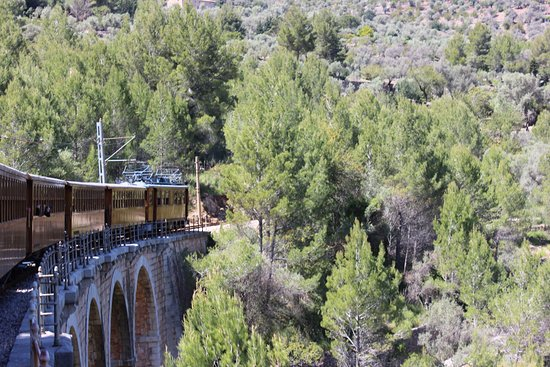 Antique Train (Soller Railway)