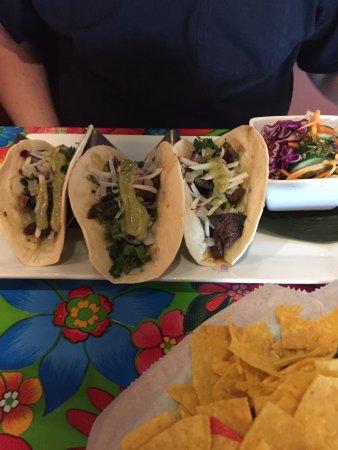 Mebane, NC: Carne Asada Tacos & House Salad
