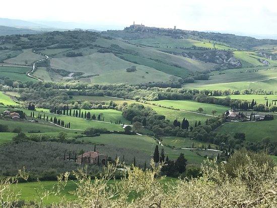 Asciano, Italia: Panorama 1