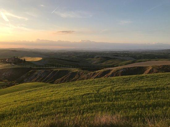 Asciano, Italia: Panorama 2
