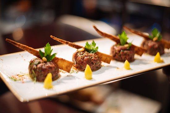 Damas Restaurant : Kefta Nayye - Tartare of beef filet mignon