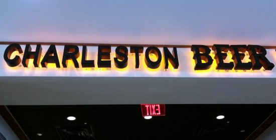 Charleston Beer Works: Look for the sign.