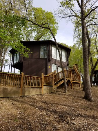 Treetop Village: Picture of our cabin
