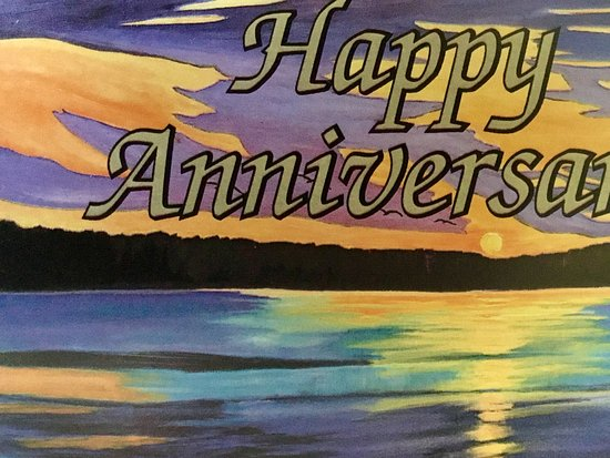 Whitney, Canadá: Anniversary card from Couples Resort and staff