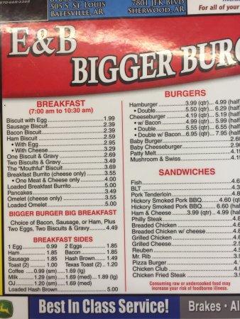 Batesville, AR: E & B Bigger Burger