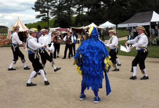 May Day Morris dancers at Speke Hall