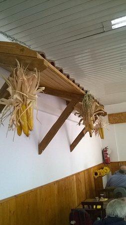 Corsico, Itália: pannocchi e riso per dare un tocco campagnolo