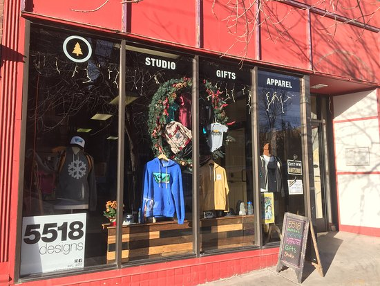Butte, MT: Store windows