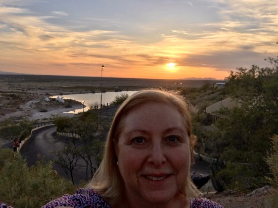 Cattleman's Steakhouse Indian Cliffs Ranch: The beautiful vista in Fabens (I know, who? what?) Texas