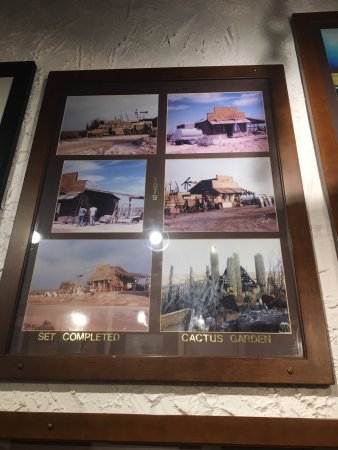 Cattleman's Steakhouse Indian Cliffs Ranch: Movie memorabilia, which is tucked in a hallway near the gift shop. I stumbled onto it accidenta