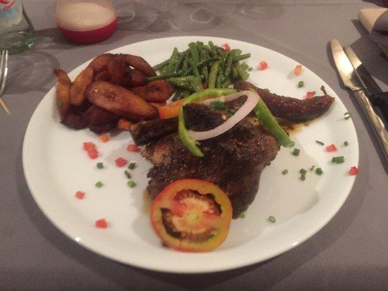 Mix grill - Picture of Cote Jardin, N'Djamena - TripAdvisor