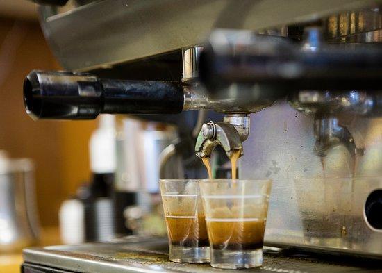 Seldovia, AK: Espresso in Perry's Café