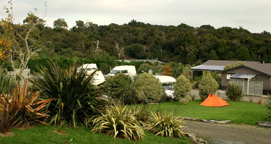 Papatowai, Nueva Zelanda: Camp ground and RV Park