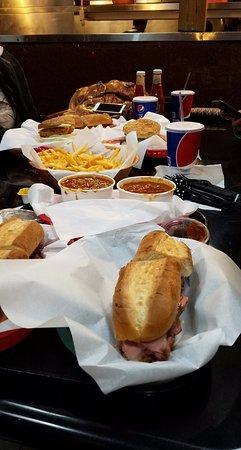 Firestone Grill: plenty of food