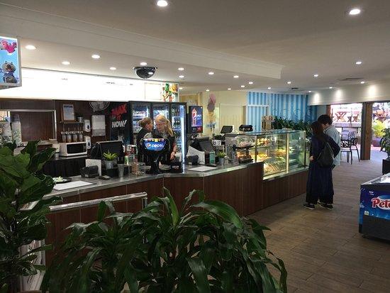 Currumbin, ออสเตรเลีย: The cafe