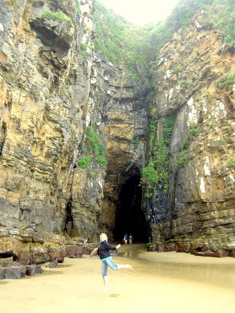 Papatowai, Nova Zelândia: Cathedral Caves, next door attraction