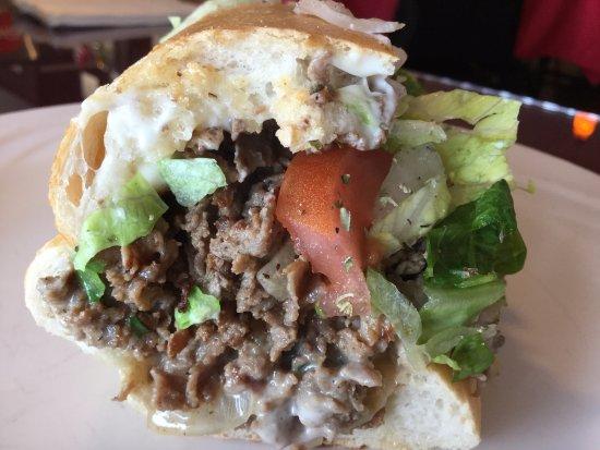 Stowe, Pensilvanya: Philly Cheese Steak - so delicious!