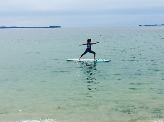 Hubbards, Kanada: SUP YOGA