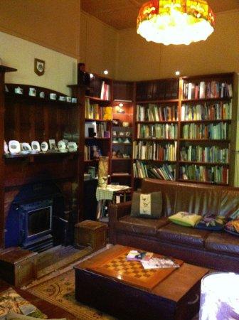 Hepburn Springs, Australien: Library for relaxation