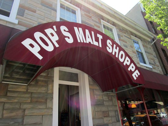 Kutztown, Pennsylvanie : Pop's Malt Shoppe